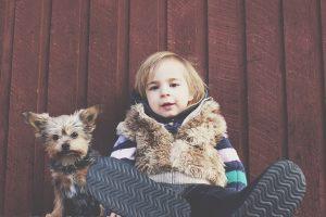ילדים, כלבים והקשר ביניהם
